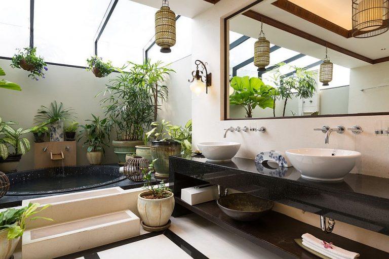 Comment décorer une salle de bain dans un style tropical ?