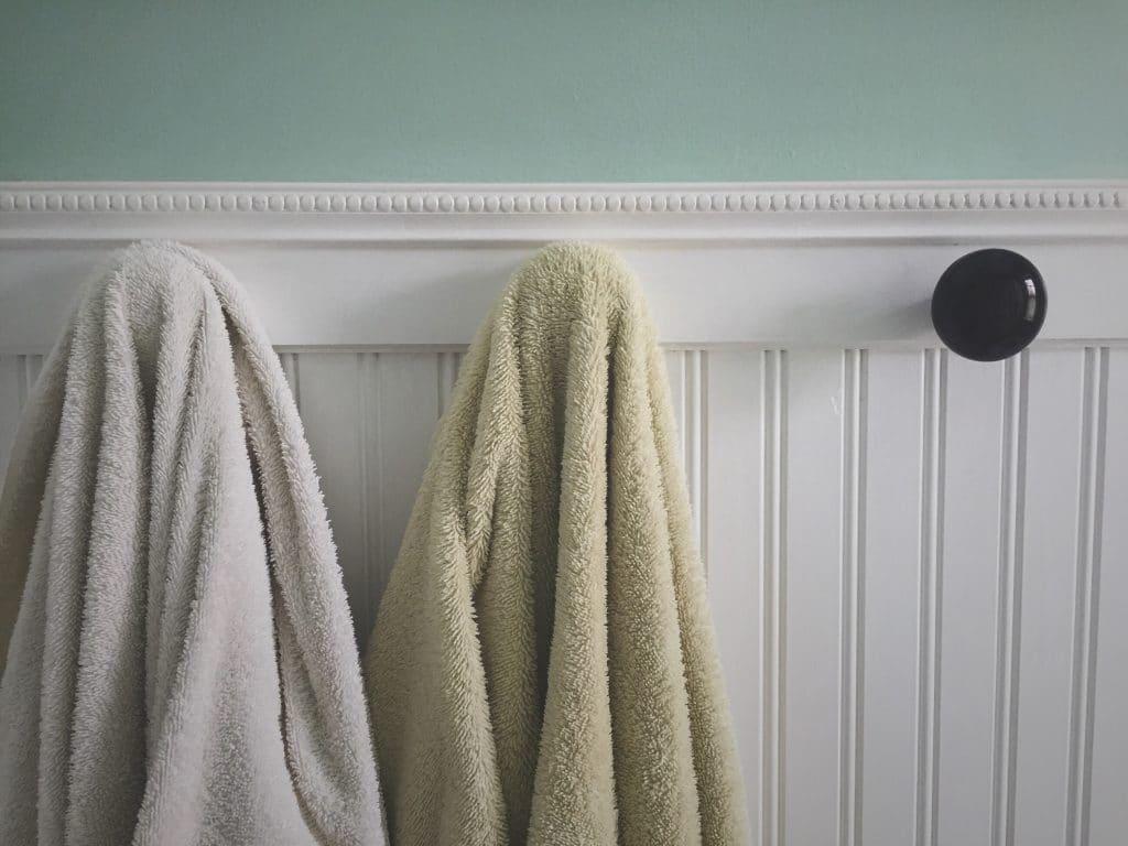 Un porte-serviettes