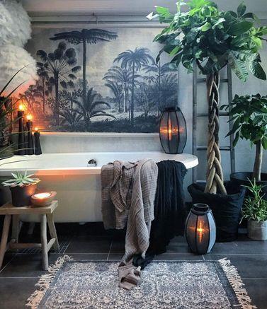 Le style tropical pour votre salle de bains