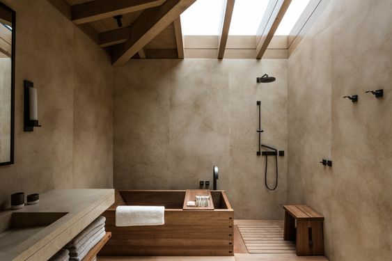Nos idées déco de salle de bain dans un style oriental